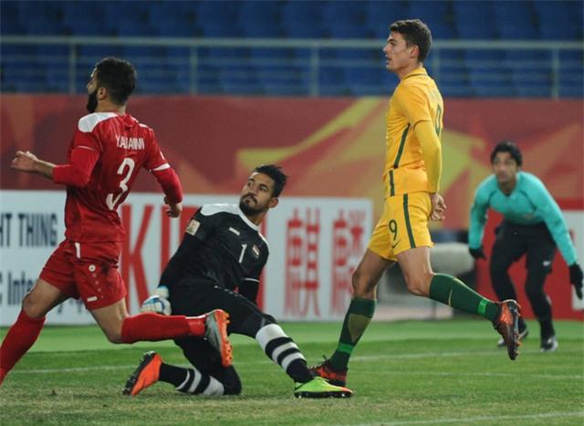 George Blackwood muốn ghi nhiều bàn vào lưới U23 Việt Nam