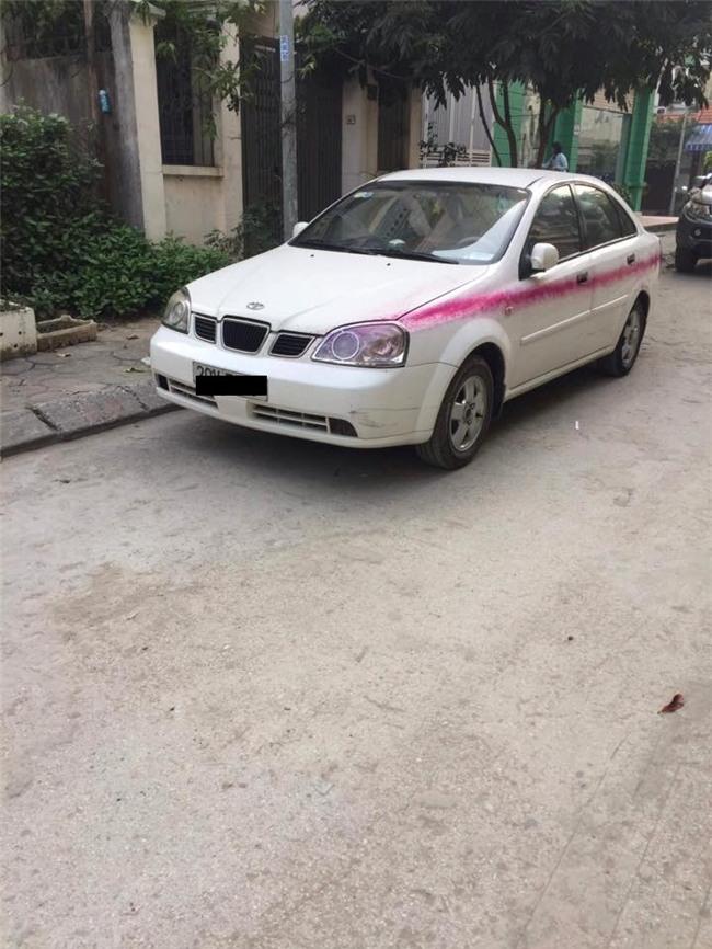 Hàng loạt ô tô bị xịt sơn bẩn tại chung cư Văn Quán, Hà Đông