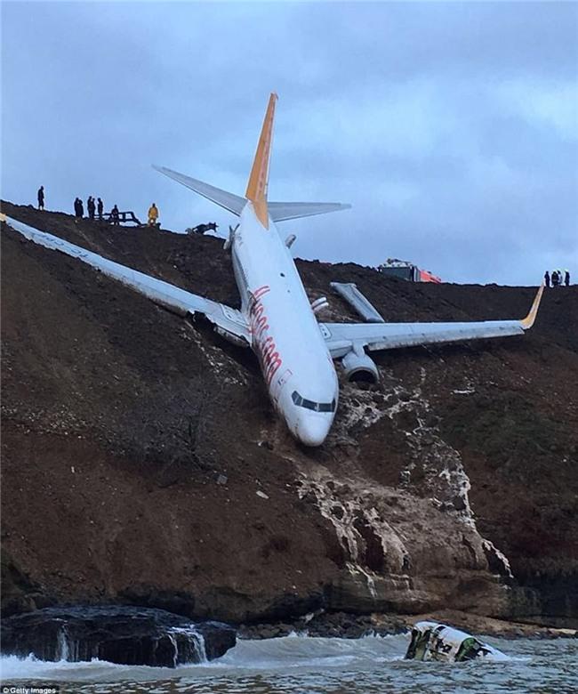 Máy bay lao thẳng xuống biển sau khi hạ cánh, 168 người sống sót an toàn, tránh được thảm kịch hàng không - Ảnh 2.