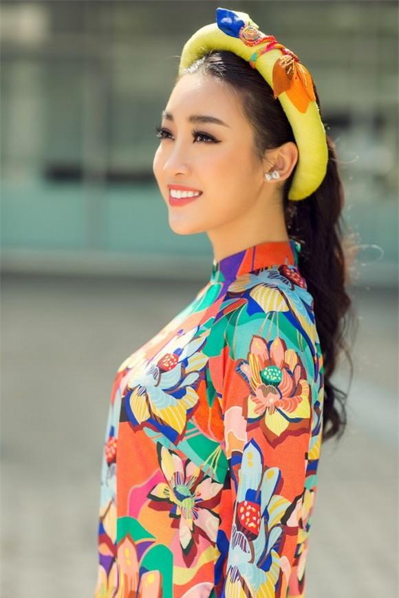 Hoa hậu mỹ linh,hoa hậu việt nam 2016,mỹ linh diện áo dài