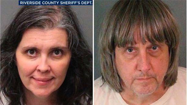 Bản án dành cho cặp vợ chồng quỷ dữ nhốt 13 con trong nhà: Nếu bị kết tội, họ có thể phải ngồi tù 94 năm - Ảnh 1.