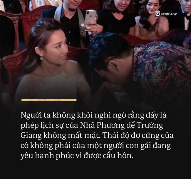 Từ vụ việc của Trường Giang: cầu hôn công khai thì đừng thô lỗ - Ảnh 1.