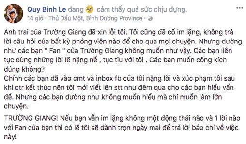 Lâm Khánh Chi: Trường Giang cầu hôn không đúng chỗ, phải xin lỗi Quý Bình - Ảnh 1.