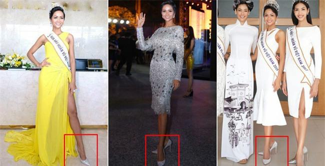Kể từ khi đăng quang, từ Hoa hậu HHen Niê cho đến 2 Á hậu Hoàn vũ cứ mải miết dùng lại đồ cũ - Ảnh 4.