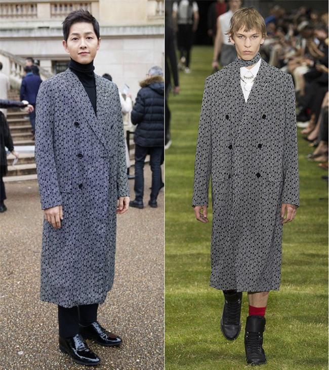 Lâu lắm mới thấy xuất hiện, Song Joong Ki lại khiến người ta trầm trồ vì diện đồ còn đẹp hơn người mẫu tại show Dior - Ảnh 5.
