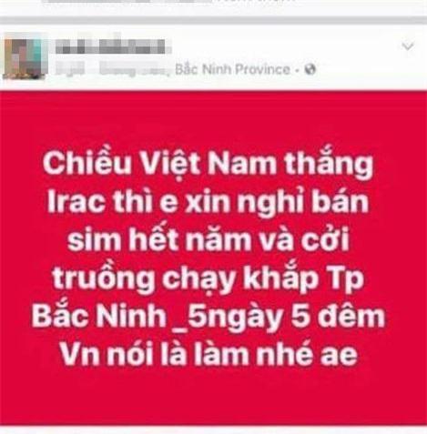 "cuoi ra nuoc mat voi loi hua ""khoa than chay khap pho neu u23 viet nam chien thang"" - 3"