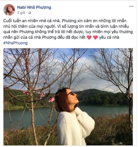 Nhã Phương lần đầu lên tiếng sau màn cầu hôn bất ngờ của Trương Giang - Ảnh 1.