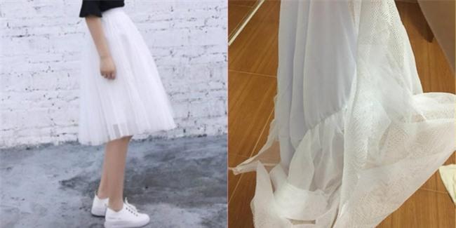 Háo hức đặt mua váy hot trend qua mạng, cô gái cay đắng nhận về một cái màn xấu thậm tệ! - Ảnh 1.