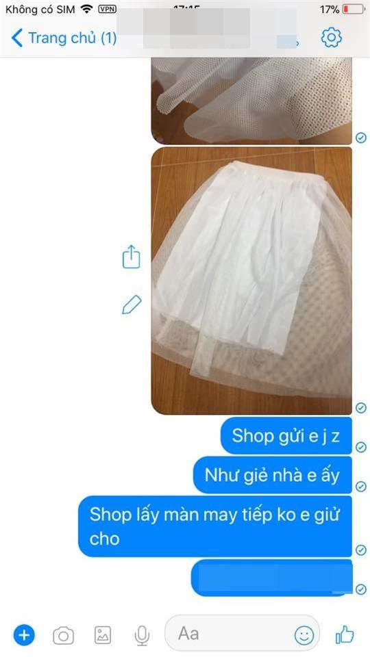 Háo hức đặt mua váy hot trend qua mạng, cô gái cay đắng nhận về một cái màn xấu thậm tệ! - Ảnh 3.