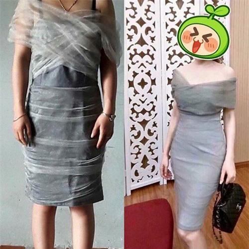 Háo hức đặt mua váy hot trend qua mạng, cô gái cay đắng nhận về một cái màn xấu thậm tệ! - Ảnh 4.