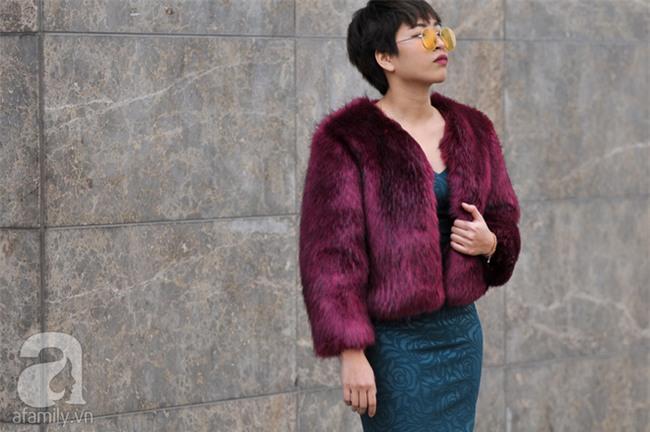 Tuần qua nắng ấm nên các quý cô Hà Thành được dịp khoe loạt street style với váy cực điệu - Ảnh 16.