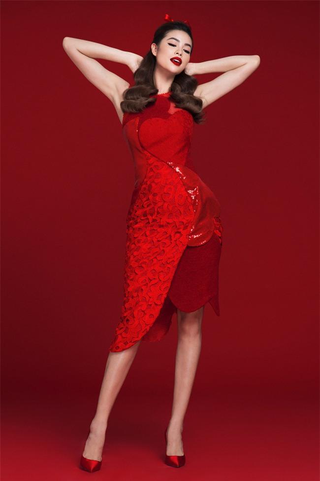 Diện váy đỏ nổi bần bật, Phạm Hương đầy gợi cảm và quyến rũ hơn bao giờ hết - Ảnh 5.
