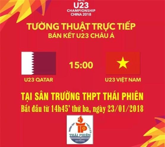Nam sinh xin nghi hoc de xem doi tuyen U23 Viet Nam da ban ket? hinh anh 3