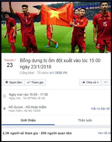 Lập sự kiện 'rủ rê xem U23 Việt Nam đá bán kết' đang là 'trend' của ngày hôm nay! - Ảnh 3.