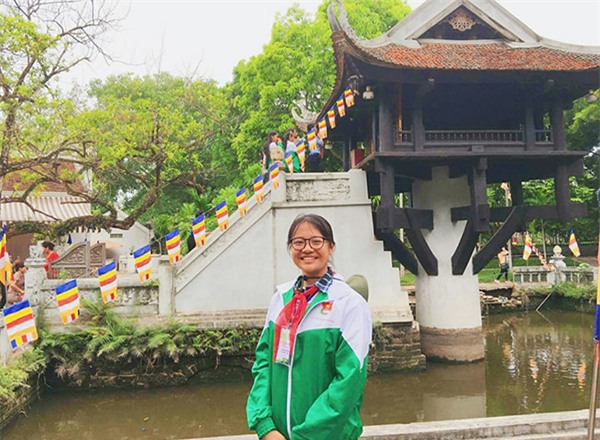 Nữ sinh Đồng Vân Anh nhiều năm liền đạt học sinh giỏi.