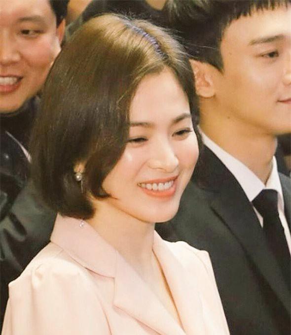 Tháng 12 vừa rồi, Song Hye Kyo là một trong những nghệ sĩ Hàn Quốc góp mặt trong sự kiện văn hóa Hàn - Trung tại Bắc Kinh, Trung Quốc.