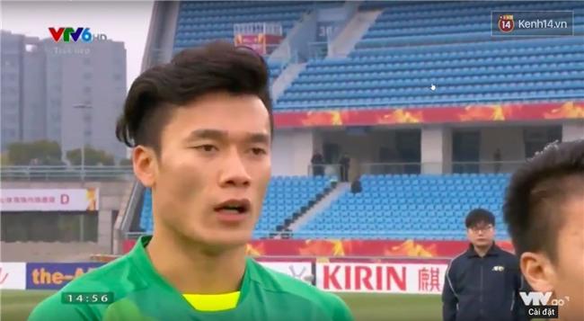 Bùi Tiến Dũng trong trận bán kết U23 châu Á: Có nhất thiết phải đẹp trai thế không! - Ảnh 1.
