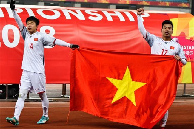 Truyen thong, tuyen thu Trung Quoc choang truoc U23 Viet Nam hinh anh 1