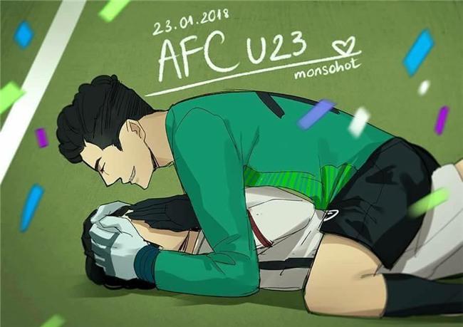 Chùm ảnh chế về đội tuyển Việt Nam sau chiến thắng kỳ tích tại giải U23 châu Á - Ảnh 21.