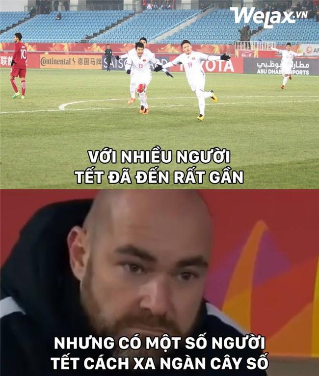 Chùm ảnh chế về đội tuyển Việt Nam sau chiến thắng kỳ tích tại giải U23 châu Á - Ảnh 13.