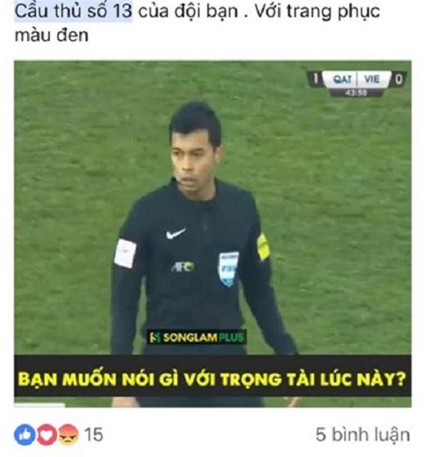 "u23 viet nam bi thoi ep: trieu fan quoc te ""noi dien"", chi trich trong tai singapore thien vi - 1"