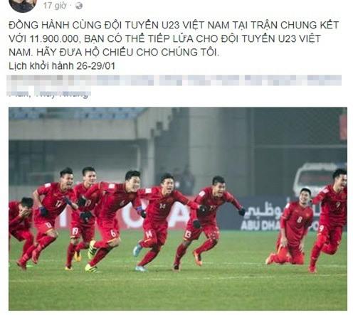 Muốn sang Trung Quốc xem U23 Việt Nam thi đấu, phải nộp hộ chiếu trước 14 giờ chiều nay - Ảnh 2.