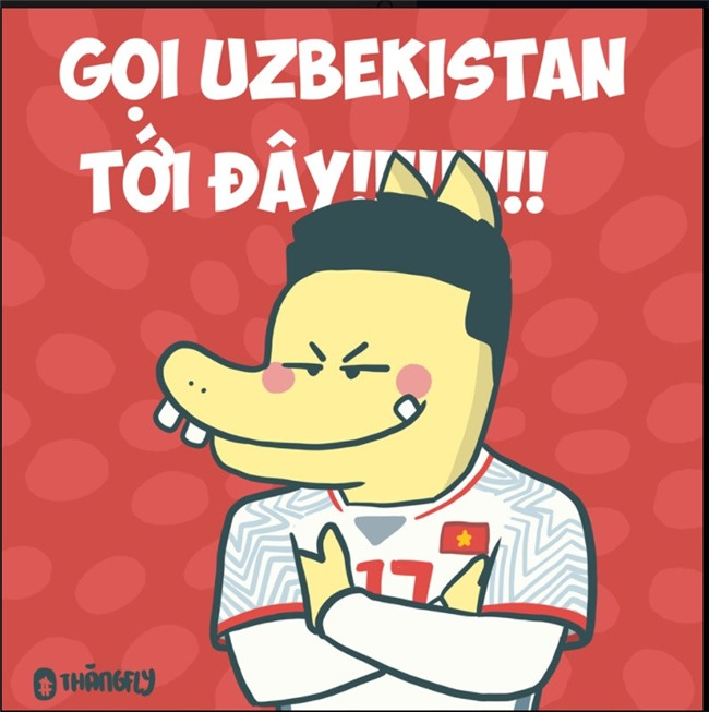 Dan mang Viet: 'Moi U23 Uzbekistan toi day' hinh anh 1