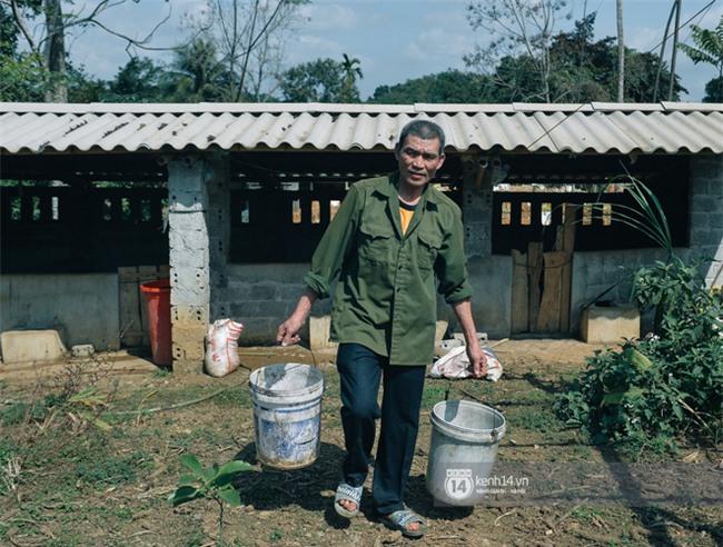 """Bố mẹ Bùi Tiến Dũng vẫn vui vẻ cắt mía, cho trâu ăn ở quê nhà: """"Việt Nam vô địch, chúng tôi sẽ mổ bò để liên hoan!"""" - Ảnh 3."""