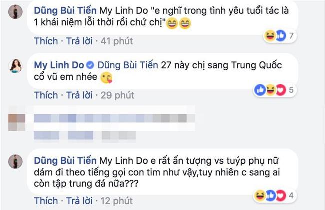 Thả thính Mỹ Linh và Angela Phương Trinh, nhưng chỉ follow Minh Tú? Dũng ơi anh sẽ chọn ai? - Ảnh 2.