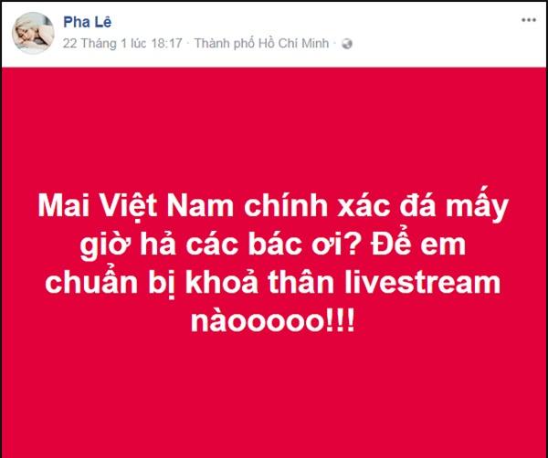 U23 thắng trận, Pha Lê bị chỉ trích vì hứa khỏa thân livestream nhưng nuốt lời-1