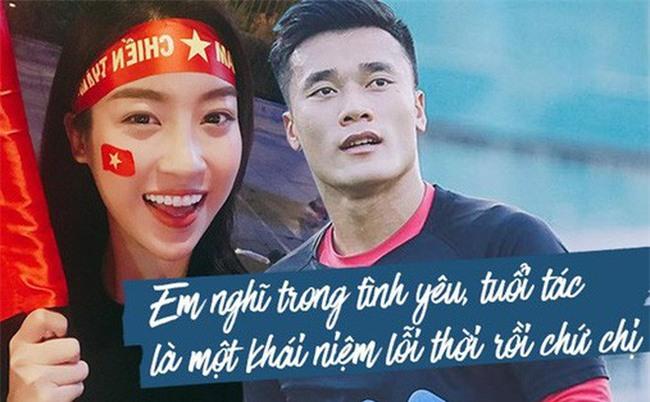 Hoa hậu Mỹ Linh cần tính toán kỹ nếu hẹn hò thủ môn Tiến Dũng - Ảnh 1.