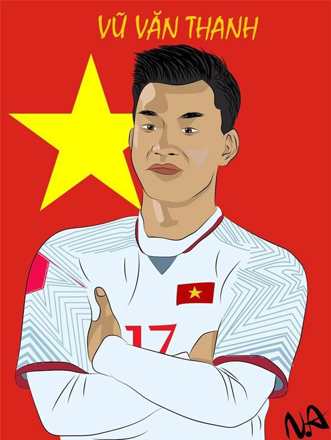Trao luu che anh, bat chuoc dang an mung cua Van Thanh U23 Viet Nam hinh anh 2