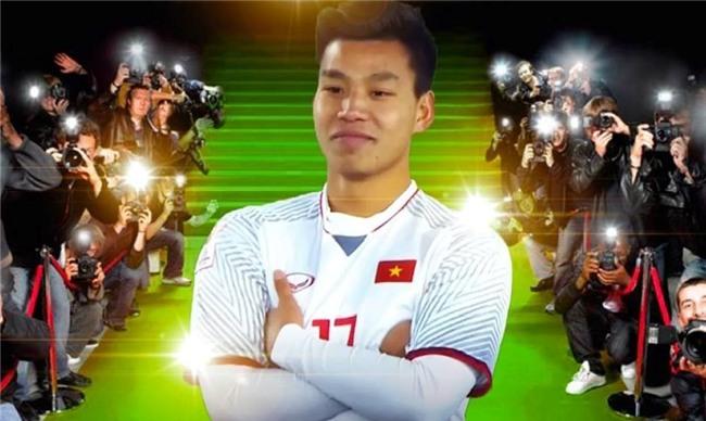 Trao luu che anh, bat chuoc dang an mung cua Van Thanh U23 Viet Nam hinh anh 3