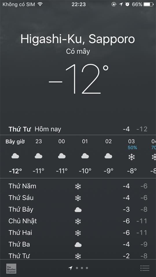 DHS Việt tại Nhật lo lắng vì thời tiết lạnh nhất trong 48 năm qua - Ảnh 2.