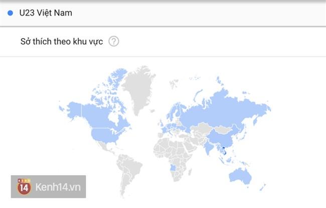 Từ khóa U23 Việt Nam được tìm kiếm chóng mặt trên Google, nhiều gấp 10 lần U23 Uzbekistan - Ảnh 1.
