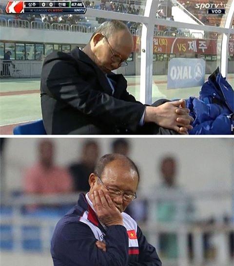 Trước thềm trận chung kết, cùng ngắm loạt khoảnh khắc 'siêu kute' của huấn luyện viên Park Hang Seo-5