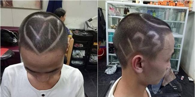 Những mái tóc chất hết nút được chuẩn bị để cổ vũ U23 Việt Nam đá chung kết - Ảnh 14.