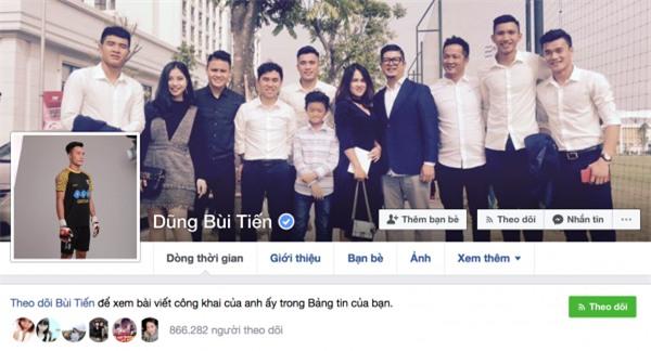 Tài khoản fake quá nhiều, Tiến Dũng, Quang Hải phải nhờ Facebook cấp dấu tích xanh - Ảnh 1.