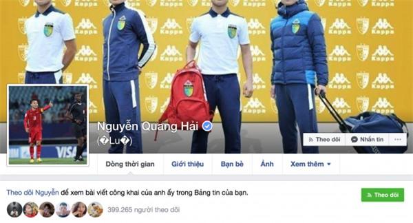 Tài khoản fake quá nhiều, Tiến Dũng, Quang Hải phải nhờ Facebook cấp dấu tích xanh - Ảnh 2.