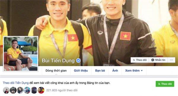 Tài khoản fake quá nhiều, Tiến Dũng, Quang Hải phải nhờ Facebook cấp dấu tích xanh - Ảnh 5.