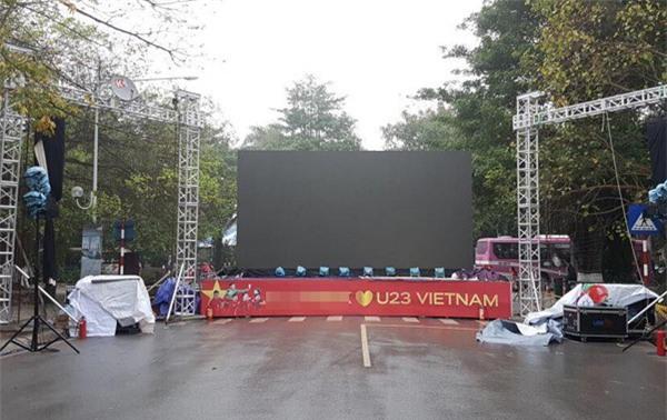 Hà Nội: Cư dân chung cư góp tiền thuê màn hình LED, mua đồ nhậu cháy hết mình cùng U23 Việt Nam - Ảnh 6.
