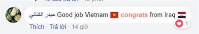 Cổ động viên khắp châu Á, thậm chí cả Iraq, hết lòng cổ vũ Việt Nam, mong tuyển U23 của chúng ta vô địch - Ảnh 2.
