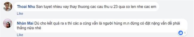 Người hâm mộ Việt Nam lo lắng, xót xa khi cầu thủ U23 phải ra sân khi tuyết vẫn rơi dày - Ảnh 10.
