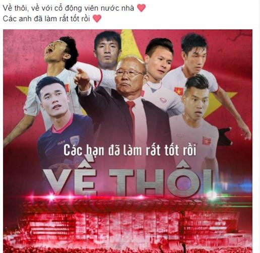 Dân mạng gửi ngàn lời động viên đến những người hùng U23 Việt Nam - Ảnh 3.