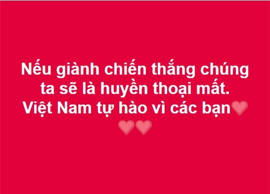 Dân mạng gửi ngàn lời động viên đến những người hùng U23 Việt Nam - Ảnh 4.