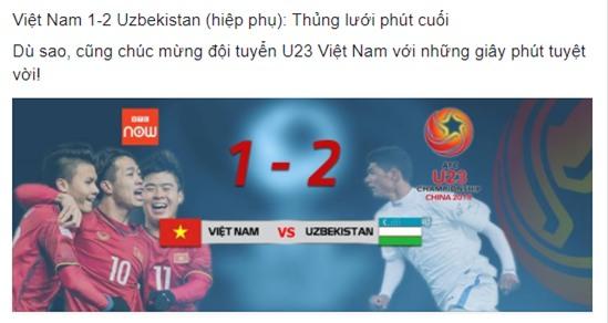 Dân mạng gửi ngàn lời động viên đến những người hùng U23 Việt Nam - Ảnh 6.