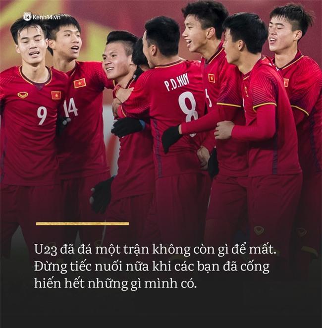 Không sao đâu U23 Việt Nam ơi, chúng ta đã chiến đấu như những người hùng đến tận phút cuối! - Ảnh 1.
