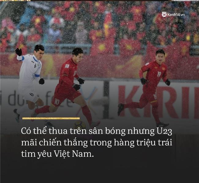 Không sao đâu U23 Việt Nam ơi, chúng ta đã chiến đấu như những người hùng đến tận phút cuối! - Ảnh 2.