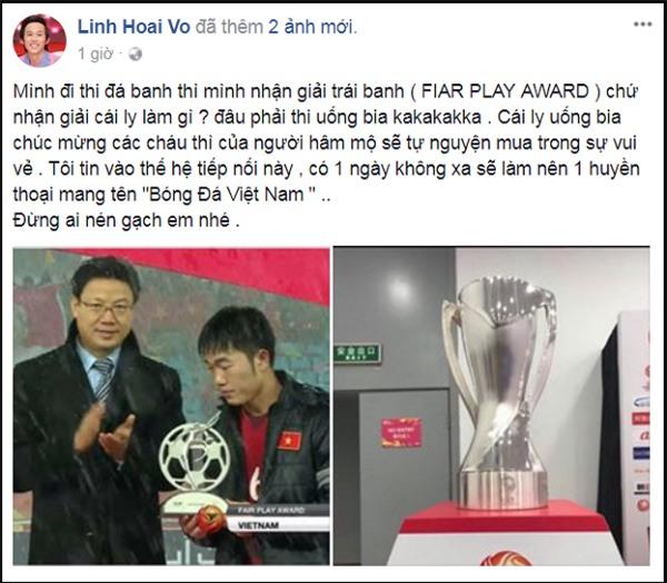 Không hổ là danh hài, Hoài Linh động viên các cầu thủ U23 Việt Nam siêu duyên dáng-3