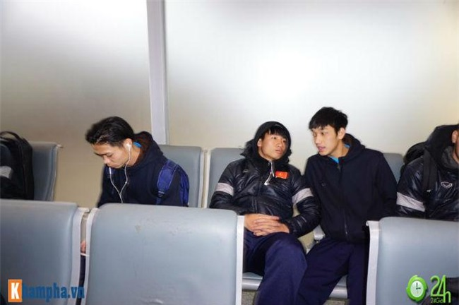truc tiep u23 viet nam ve nuoc: anh moi cua thay tro park hang-seo tren chuyen co ve noi bai - 12